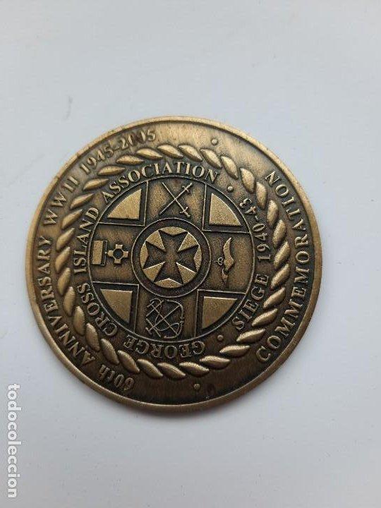 WW2. MALTA. GEORGE CROSS. 60 ANIVERSARIO 1945 2005 (Militar - Medallas Extranjeras Originales)