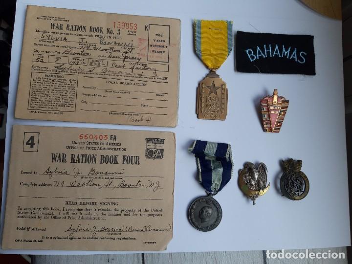 WW2. GRAN LOTE DE LA SEGUNDA GUERRA MUNDIAL (Militar - Medallas Extranjeras Originales)