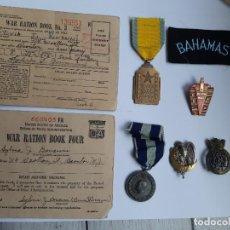 Militaria: WW2. GRAN LOTE DE LA SEGUNDA GUERRA MUNDIAL. Lote 188787851