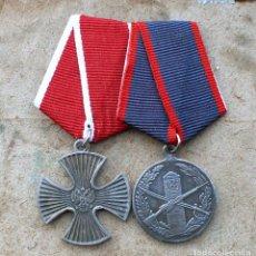 Militaria: LOTE.2 MEDALLAS.FEDERACIÓN DE RUSIA. Lote 189299203