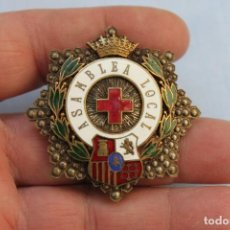 Militaria: PLACA ASAMBLEA LOCAL CRUZ ROJA. Lote 189435905