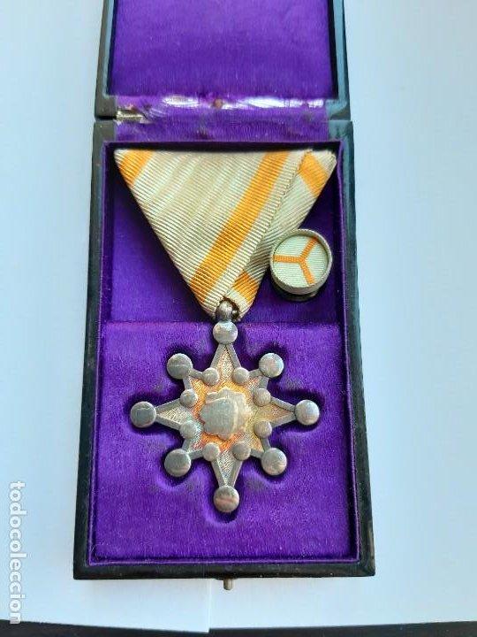 22. WW2. JAPÓN. MEDALLA ORDEN DEL TESORO SAGRADO. 8 CLASE. EN SU CAJA (Militar - Medallas Extranjeras Originales)