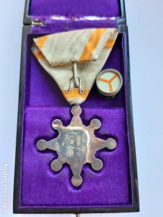 Militaria: 22. WW2. JAPÓN. MEDALLA ORDEN DEL TESORO SAGRADO. 8 CLASE. EN SU CAJA - Foto 2 - 189550606