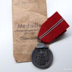 Militaria: MEDALLA DEL ESTE OSTMEDAILLE MEDALLA DE LA CARNE CONGELADA CON MARCAJE 6 Y SOBRE. Lote 189571461