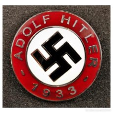 Militaria: INSIGNIA PIN DEL NSDAP ADOLF HITLER 1933 ALEMANIA PARTIDO NAZI TERCER REICH. Lote 255477825