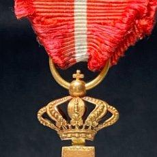 Militaria: CRUZ MERITO MILITAR DISTINTIVO ROJO, ORO, CUBA.. Lote 189638385