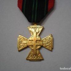 Militaria: FRANCIA-CRUZ DE COMBATIENTE VOLUNTARIO EN LA RESISTENCIA- CON SU CINTA ORIGINAL, EXCELENTE ESTAD. . Lote 189647537