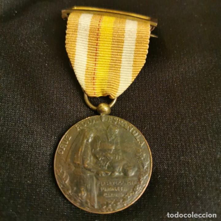 MEDALLA DE ENFERMERA DE LA CRUZ ROJA (Militar - Medallas Españolas Originales )