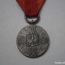 Militaria: POLONIA-MEDALLA 30 ANIVERSARIO CREACIÓN REP.POPULAR, CATEGORIA UNICA PLATA-CON SU CINTA ORIGINAL. Lote 189648733