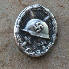 Militaria: INSIGNIA DE HERIDA (PLATA)TERCER REICH. NAZI. Lote 238672605