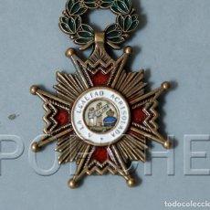 Militaria: CRUZ DE CABALLERO DE LA ORDEN DE ISABEL LA CATOLICA. Lote 201009446