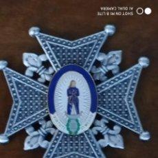 Militaria: MEDALLA CRUZ MILITAR ORDEN EJERCITO CARLOS III . EN EL CENTRO LA INSIGNIA ES ESMALTADA. Lote 190370500