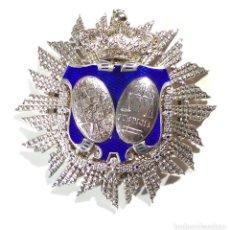 Militaria: PLACA DE JUEZ. MINISTERIO DE JUSTICIA. ÉPOCA ALFONSO XIII.. Lote 190392782