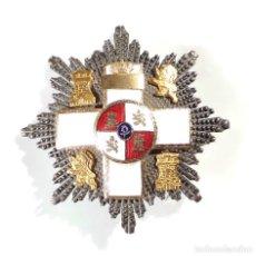 Militaria: PLACA MÉRITO MÉRITO MILITAR CON DISTINTIVO BLANCO.. Lote 190394405
