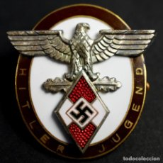 Militaria: CONDECORACIÓN DE HONOR DEL ALTO MANDO DE LAS HITLERJUGEND PARA EXTRANJEROS DISTINGUIDOS EN SU SOBRE. Lote 190481585