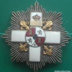 Militaria: PLACA MÉRITO MILITAR ALFONSO XII-XIII. Lote 190516650