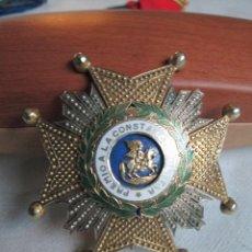 Militaria: ANTIGUA MEDALLA DE PLATA PREMIO A LA CONSTANCIA MILITAR...ORDEN DE SAN HERMEGILDO.. Lote 190544093