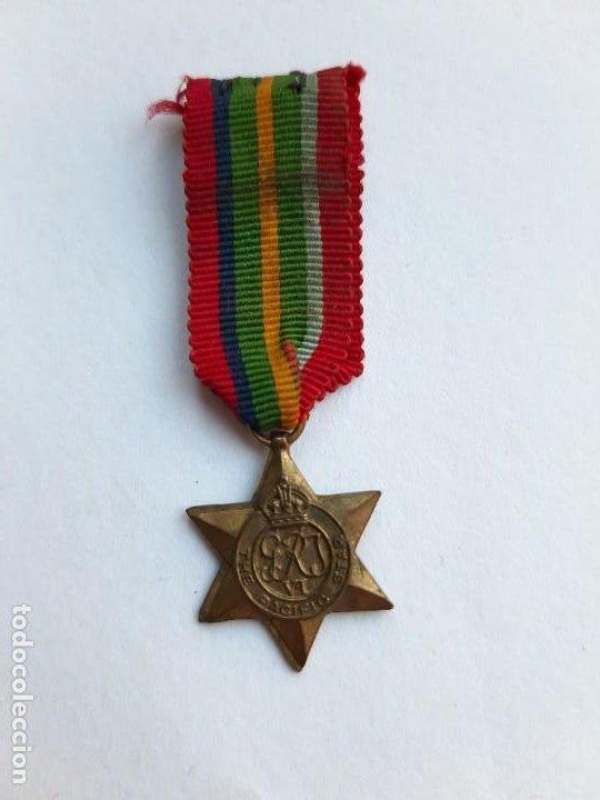WW2. REINO UNIDO. ESTRELLA DEL PACÍFICO. MINIATURA. 1939 1945 (Militar - Medallas Extranjeras Originales)