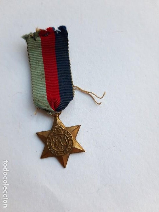 WW2. REINO UNIDO. 1939 1945 STAR. MINIATURA. (Militar - Medallas Extranjeras Originales)
