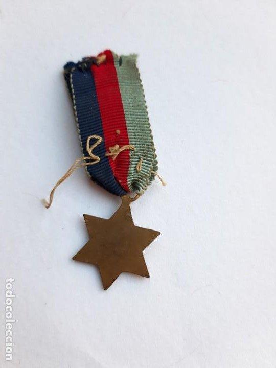 Militaria: WW2. REINO UNIDO. 1939 1945 STAR. MINIATURA. - Foto 2 - 190641890