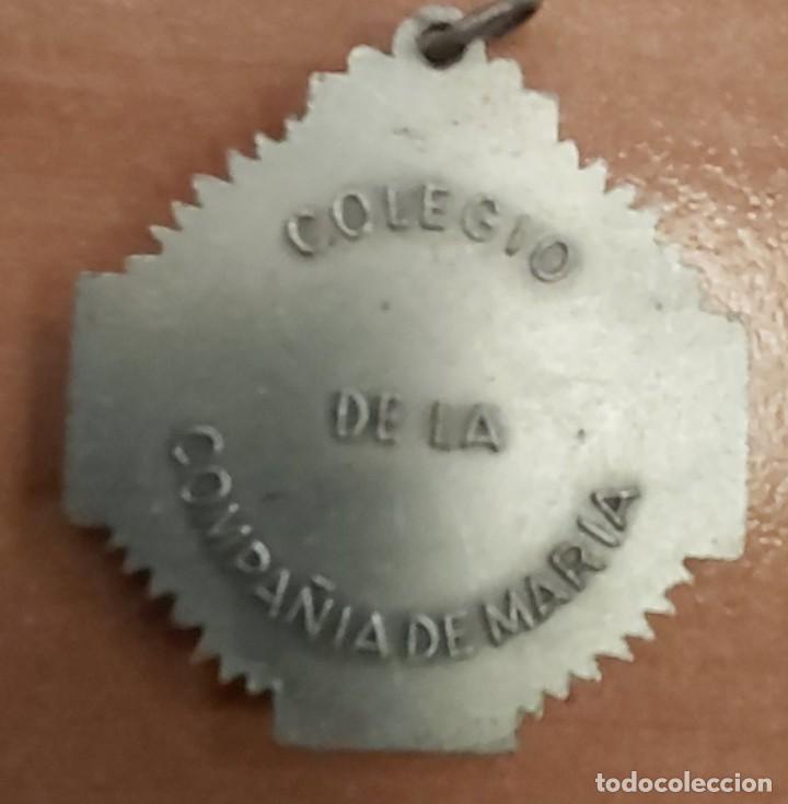 Militaria: MEDALLA COLEGIO DE LA COMPAÑIA DE MARIA. Reverso inscripcion Colegio Compañia de Maria - Foto 2 - 17074307