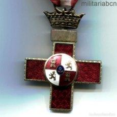 Militaria: CRUZ AL MÉRITO MILITAR. DISTINTIVO ROJO. ÉPOCA DE FRANCO,. Lote 190722573