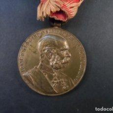 Militaria: MEDALLA SIGNUM MEMORIAE.50 AÑOS DE REINADO DEL EMPERADOR FRANCISCO JOSE I. AUSTRO-HUNGRIA. AÑO 1898. Lote 190863137