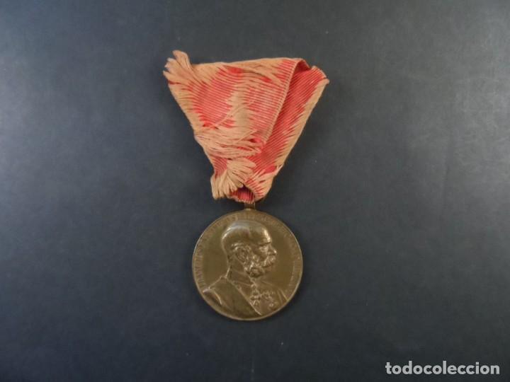 Militaria: MEDALLA SIGNUM MEMORIAE.50 AÑOS DE REINADO DEL EMPERADOR FRANCISCO JOSE I. AUSTRO-HUNGRIA. AÑO 1898 - Foto 2 - 190863137