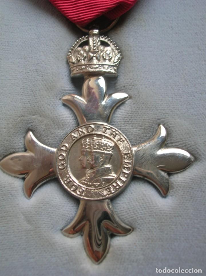 Militaria: EXCEPCIONAL Y ANTIGUA ORDEN BRITANICA DE MIEMBRO DEL IMPERIO BRITANICO EN SU ESTUCHE. - Foto 2 - 190932980