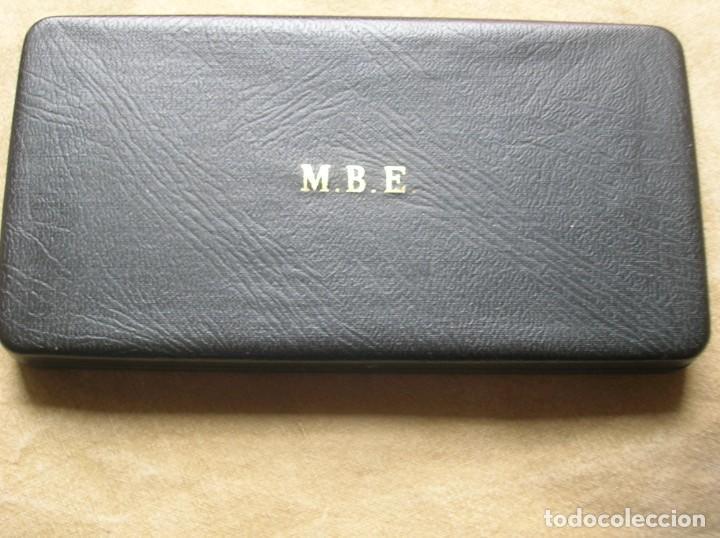 Militaria: EXCEPCIONAL Y ANTIGUA ORDEN BRITANICA DE MIEMBRO DEL IMPERIO BRITANICO EN SU ESTUCHE. - Foto 5 - 190932980