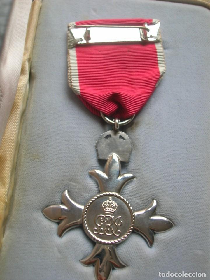 Militaria: EXCEPCIONAL Y ANTIGUA ORDEN BRITANICA DE MIEMBRO DEL IMPERIO BRITANICO EN SU ESTUCHE. - Foto 6 - 190932980