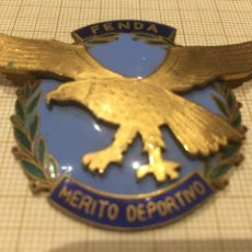 Militaria: PLACA VENERA FENDA MÉRITO DEPORTIVO. Lote 191005040
