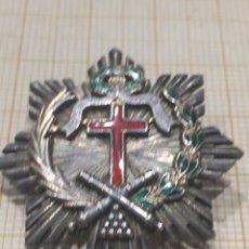 Militaria: MINI PLACA DE LA ORDEN HUMANITARIA DEL 2 DE MAYO EN PLATA. Lote 191099146