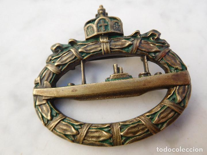 INSIGNIA DE SUBMARINO ALEMAN U-BOAT WW1 ORIGINAL KRIEGSMARINE (Militar - Medallas Extranjeras Originales)