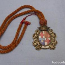 Militaria: RESERVADO * ANTIGUA RARA MEDALLA DE CONCEJAL DE SANT FELIU DE GUIXOLS, ORIGINAL. ZX. Lote 191373721
