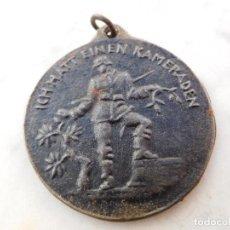 Militaria: MEDALLA ALEMANA WW1 ICH HATT EINEN KAMARADEN. Lote 191495431