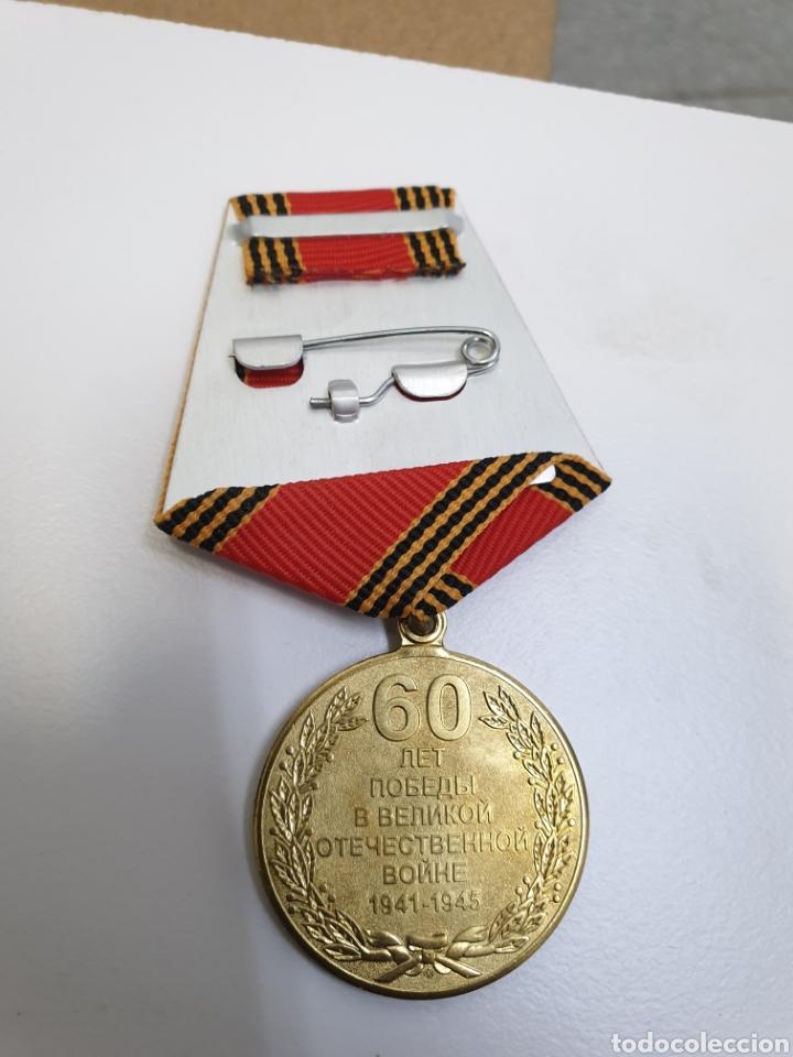 Militaria: Lote de 9 medallas rusas.1945-2005 - Foto 2 - 191697042