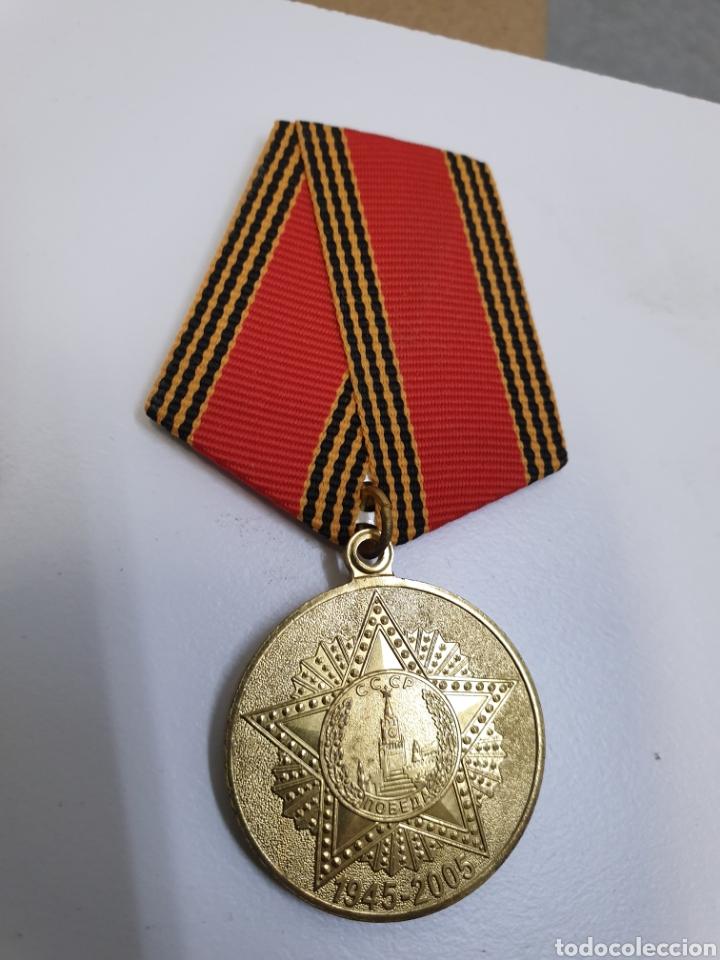 Militaria: Lote de 9 medallas rusas.1945-2005 - Foto 3 - 191697042