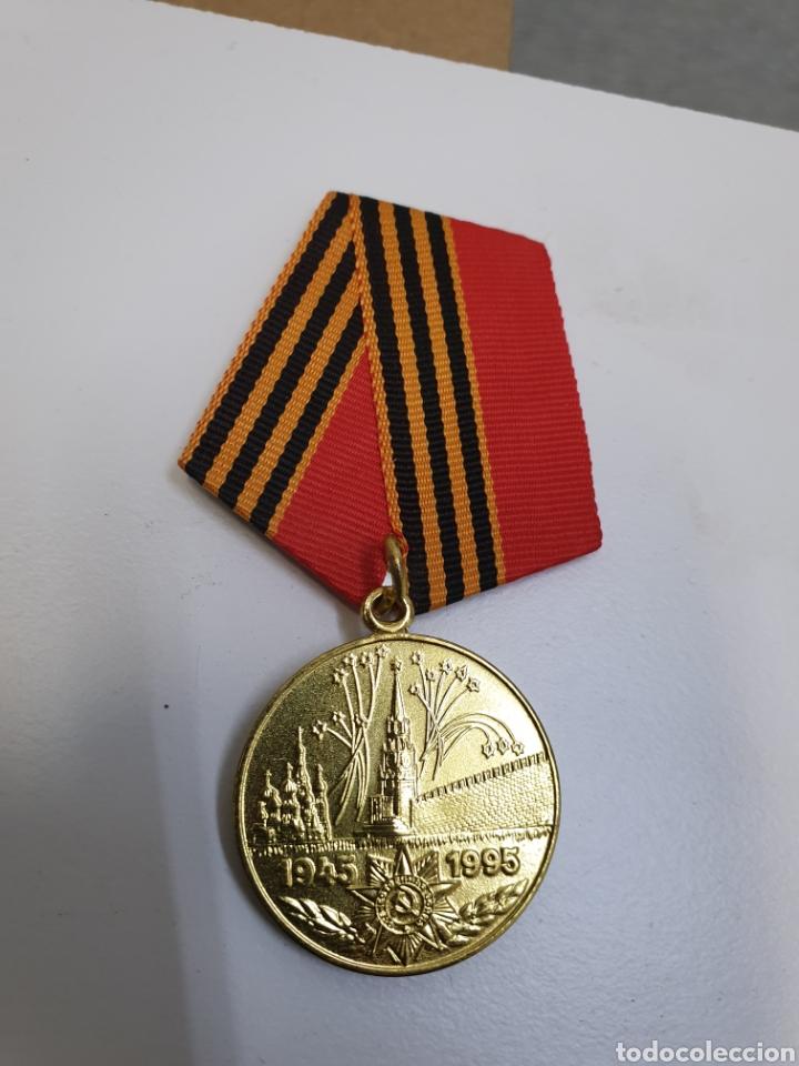 Militaria: Lote de 10 medallas rusas 1945-1995 - Foto 2 - 191697615
