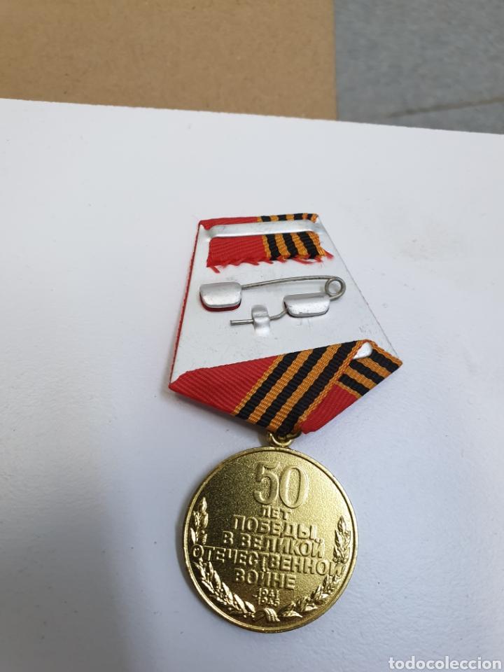 Militaria: Lote de 10 medallas rusas 1945-1995 - Foto 3 - 191697615