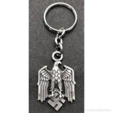 Militaria: LLAVERO AGUILA Y ESVASTICA ALEMANIA TERCER REICH PARTIDO NAZI NSDAP. Lote 216527068