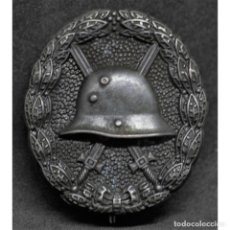 Militaria: INSIGNIA HERIDO EN NEGRO WWI PRIMERA GUERRA MUNDIAL ALEMANIA IMPERIO ALEMÁN. Lote 191821550