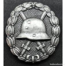Militaria: INSIGNIA HERIDO CATEGORIA PLATA WWI PRIMERA GUERRA MUNDIAL ALEMANIA IMPERIO ALEMÁN. Lote 191821588