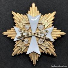 Militaria: ESTRELLA DE LA GRAN CRUZ DE LA ORDEN DEL AGUILA ALEMANA CON ESPADAS TERCER REICH. Lote 191823051