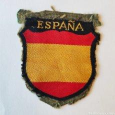 Militaria: PARCHE ESCUDO ORIGINAL DE LA DIVISION AZUL BEVO. Lote 192232162