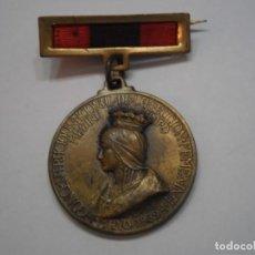 Militaria: MEDALLA HOMENAJE AL EJERCITO 1939-MEDALLA DE BRONCE CON PASADOR QUE INCLUYE CINTA-TODO CORRECTO. Lote 192233037