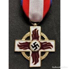 Militaria: MEDALLA AL MERITO DE 1ª CLASE CUERPO DE BOMBEROS ALEMANIA PARTIDO NAZI TERCER REICH NSDAP. Lote 211631110