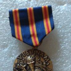 Militaria: MEDALLA USA, VIETNAM SERVICE. Lote 192533101
