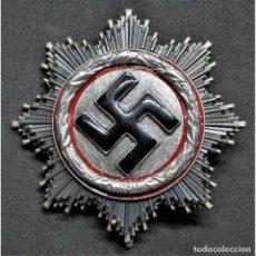 Militaria: CRUZ ALEMANA CATEGORIA PLATA ALEMANIA PARTIDO NAZI TERCER REICH WEHRMACHT. Lote 192628935