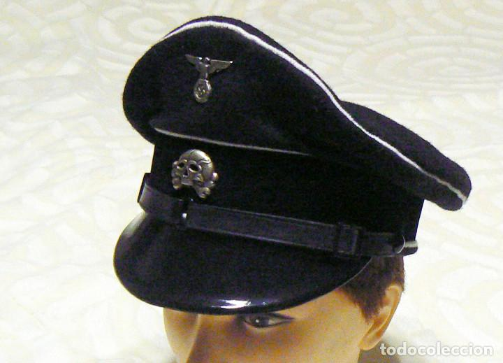 Militaria: WW2 ÁGUILA Y DEL CALAVERA danziger totenkopf SS1923. PARA GORRA DE PLATO - Foto 7 - 206160862